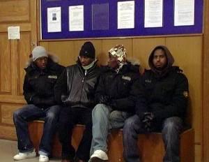 Сомалийцев зима застала в Закарпатье
