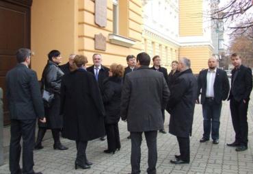 Знайомство угорських парламентарів із Закарпаттям