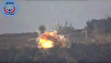 Повстанці влучили у російський вертоліт