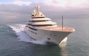 156-метровое судно обошлось Алишеру Усманову в 600 миллионов долларов