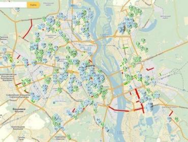 С помощью Яндекс-карты водитель сможет получить информацию о ремонтных работах