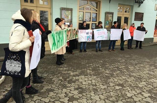 ВУжгороде напали научастников акции позащите прав женщин