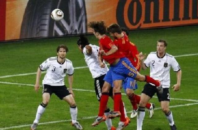 Чемпионат мира по футболу 2010 видео испания германия