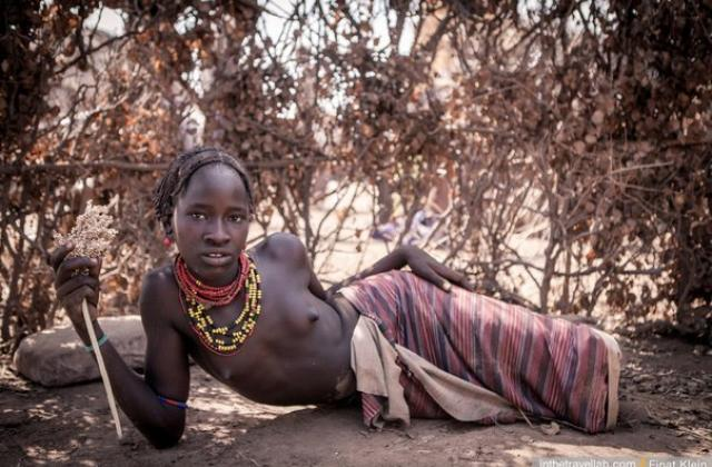 Трах в древности в племенах людей