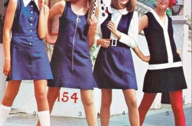 Міні-спідниця стала головним модним символом епохи хрущовської відлиги 1ece91aea3a5e