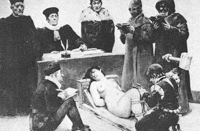 Средневековые сексуальные пытки и казни